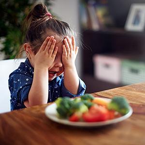 moeilijk eten baby kleuter peuter