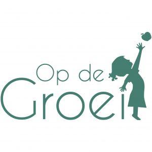 Logo - op de groei - vierkant